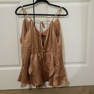 NWT Zena Wrap Front Playsuit